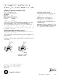 ge monogram oven manual microwave oven users guides