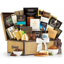 Gift Baskets With Free Shipping Grand Indulgence Gourmet Gift Basket