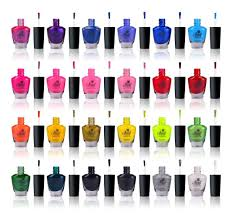 amazon com shany cosmetics the cosmopolitan nail polish set 24