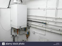 House Plumbing System Tube Gas Heating Furnace System Boiler Pipe Plumbing House