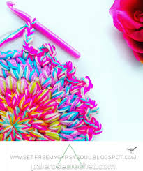 pale rose crochet free pattern doily rug mat home decor boho idolza