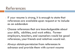 Resume Addendum For Vps High Students Ppt Download