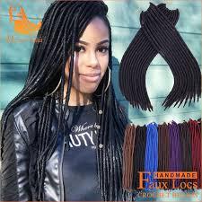 box braids with 2 packs of hair 14 2packs afro kinky faux locs twist crochet box braids dread