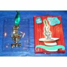 free cat in the hat dr seuss ornament from burger king