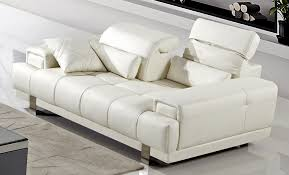 modern reclining sofa white the holland modern reclining sofa