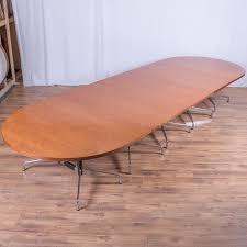 Vitra Boardroom Table Eames Cherry Veneer 4800x1600 Boardroom Table