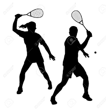 Free Silhouette Images Illustration Squash Player Silhouette Royalty Free Cliparts