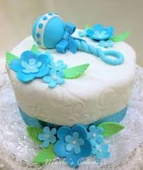 Tiffany Blue Baby Shower Cake - tiffany blue and white cake with a butterfly theme butterfly