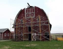 Dome Barn Barn Restoration The Barn At Allen Acres