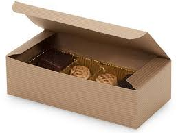 chocolate wrapping box