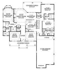 craftsman style house plan 4 beds 3 5 baths 3248 sq ft plan 314