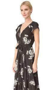 Free People All I Got Maxi Dress Black Combo Women Clothing