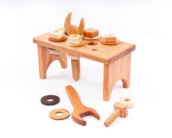 Toy Wooden Tool Bench 83 Best Wooden Toys U0026 Games Images On Pinterest Wood Toys