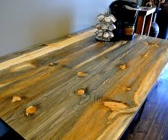 staining a table top beetle kill blue stain pine table top sustainable lumber company