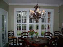 white shutters faux wood kitchen with divider rails jpg