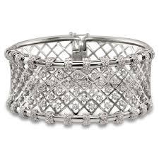 diamond bracelet cuff images Goldfire diamonds gold fire diamonds mesh diamond cuff bracelet jpg