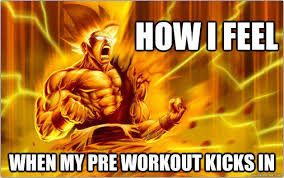Pre Workout Meme - fat burning pre workout chaos and pain