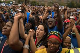South African Cabinet Ministers Pictures Thousands March In South Africa To Demand Jacob Zuma U0027s Resignation