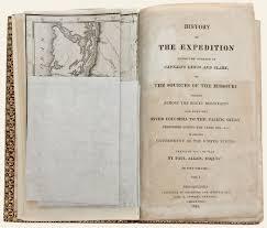 Lewis And Clark Expedition Map The Antiquarium Antique Print U0026 Map Gallery Paul Allen