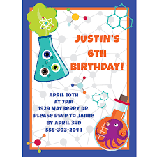 science birthday party supplies theme party packs