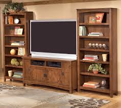 Jerusalem Furniture Upper Darby Pa by Ashley Furniture Cross Island 60 Inch Tv Stand U0026 2 Large Bookcases
