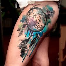 dreamcatcher tattoo upper arm 60 dreamcatcher tattoo designs for women art and design