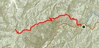 nantahala river map appalachian trail nantahala river to cheoah bald carolina
