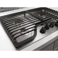 Outdoor Gas Cooktops Amana 30 In Gas Cooktop In Stainless Steel With 4 Burners