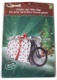 large plastic gift bag bike bag 60 x 72 with