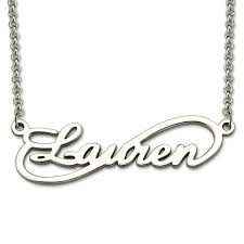 name pendant aliexpress buy personalized infinity necklace custom name