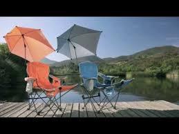 Reclining Folding Chair With Footrest Sklz Sport Brella Folding Recliner Chair W Umbrella U0026 Footrest