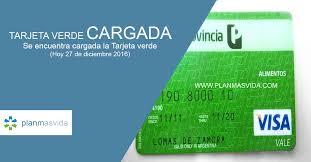 consulta de saldo visa vale social fecha de carga tarjeta plan más vida febrero 2018 plan mas vida