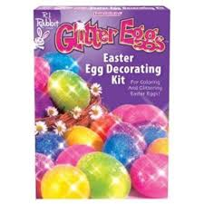 easter egg kits glitter eggs easter egg decorating kit each party supplies