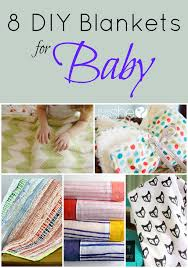 diy blanket 8 diy blankets for baby blissfully domestic