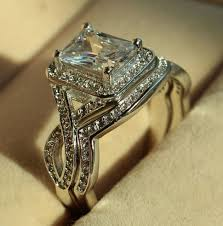 qvc wedding bands wedding rings does diamonique look qvc diamonique wedding