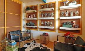 Office Shelf Decorating Ideas with 50 Tips And Ideas For A Successful Man Cave Decor