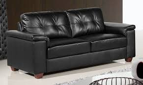 Stockholm Leather Sofa Stockholm 3 Seater Black Leather Sofa Leather Sofa Land