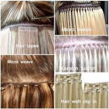 micro weft hair extensions application instant beauty