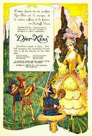 Le Journal Du Parfum Cleopatra U0027s Boudoir Djer Kiss By Kerkoff C1908