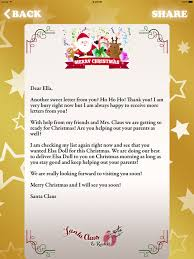 santa claus letters letter to santa claus write to santa pole on the app store