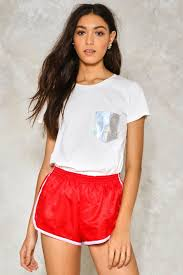 Holographic Clothing For Sale In Your Pocket Holographic Tee Shop Clothes At Nasty Gal
