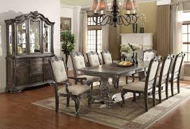 grey dining room chairs kiera formal grey dining room set 2151 crown mark