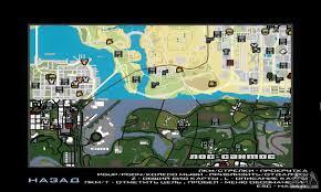 San Andreas Map Gta V Atlas Map For Gta San Andreas