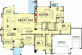 contemporary one story house plans single story modern