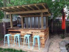 Backyard Bar Ideas Diy How To Build A Shed Backyard Bar Metal Panels And Backyard