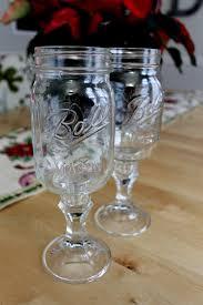 Wine Glass Flower Vase 12 Intriguing Ways To Make A Mason Jar Wine Glass Guide Patterns