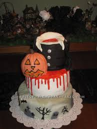 coolest homemade halloween cakes