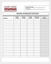Restaurant Employee Schedule Template Excel by Schedule Template 401 Free Word Excel Pdf Format