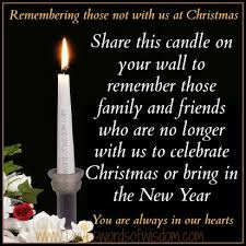 daveswordsofwisdom com remembering those not with us at christmas
