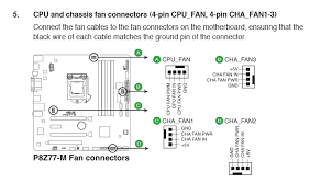cpu fan 4 pin to 3 pin how do i connect a 3 pin case fan to a 4 pin mobo overclock net